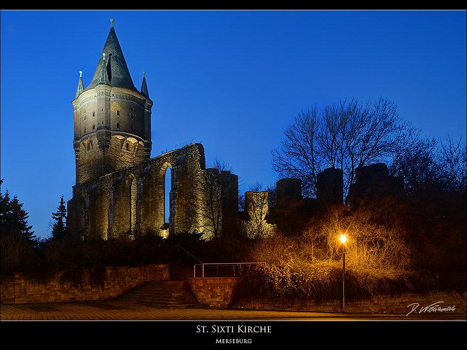 Sixtie Ruine Merseburg