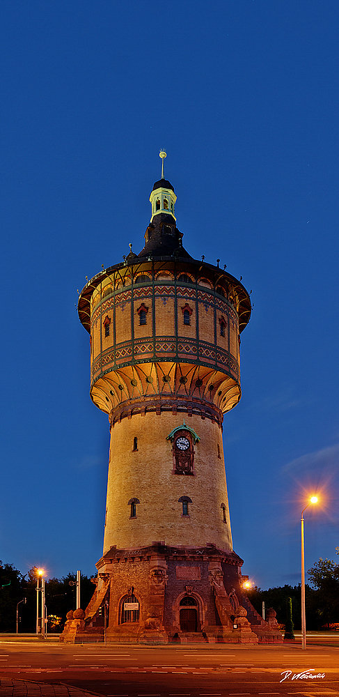 Wasserturm Nord Halle / Saale