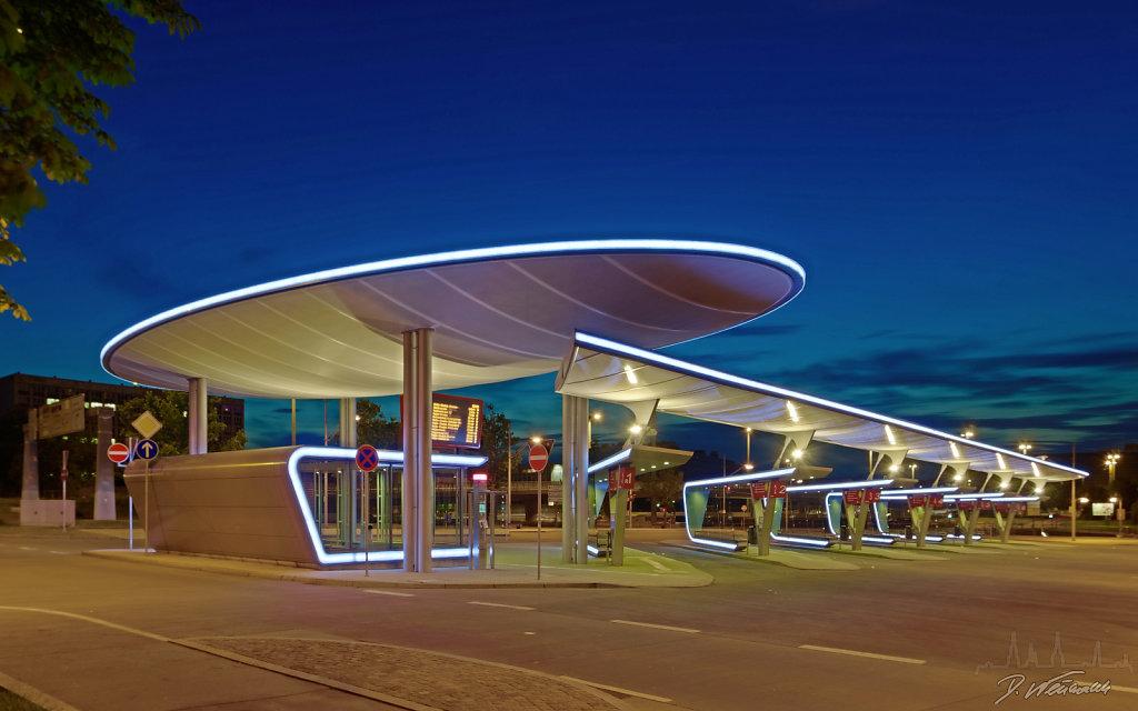 Busbahnhof Halle / Saale